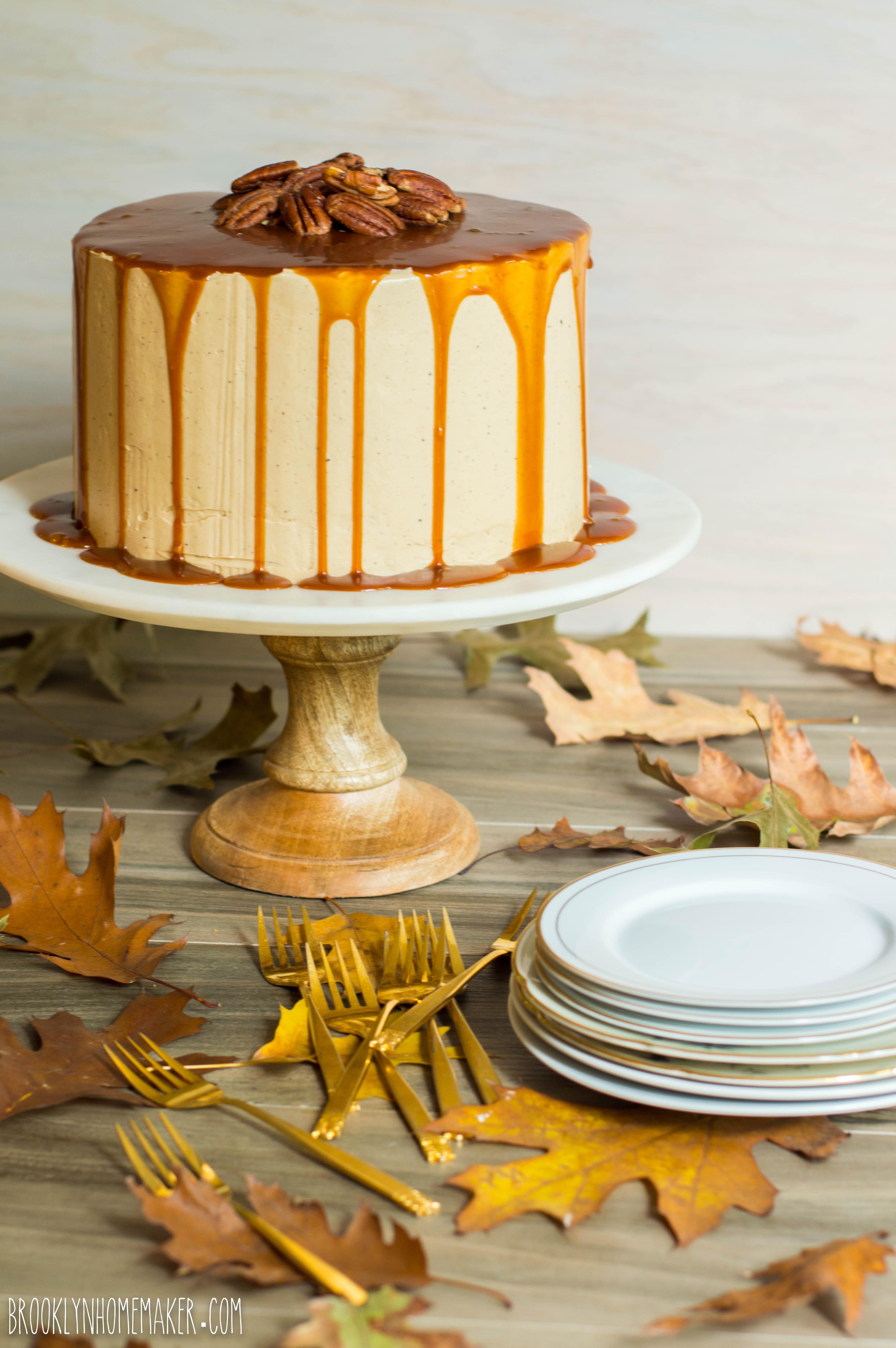 butter pecan layer cake | Brooklyn Homemaker