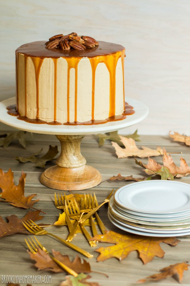 butter pecan layer cake | Brooklyn Homemaker
