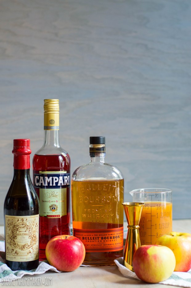 apple cider boulevardier | Brooklyn Homemaker