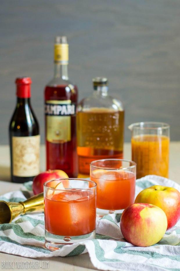 apple cider boulevardier | Brooklyn Homemaker