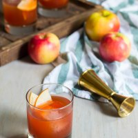 apple cider boulevardier