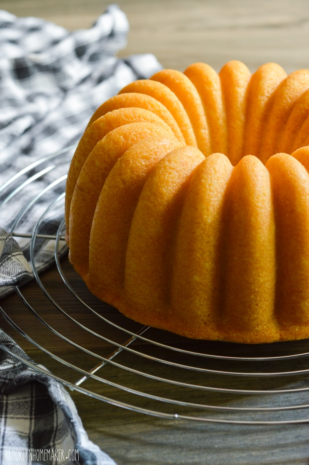 basic bundt series | buttermilk pound cake | Brooklyn Homemaker