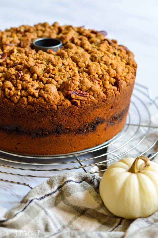 pumpkin streusel coffee cake | Brooklyn Homemaker