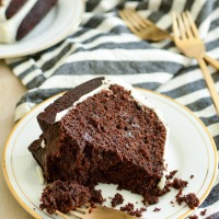 basic bundt series: chocolate bundt cake