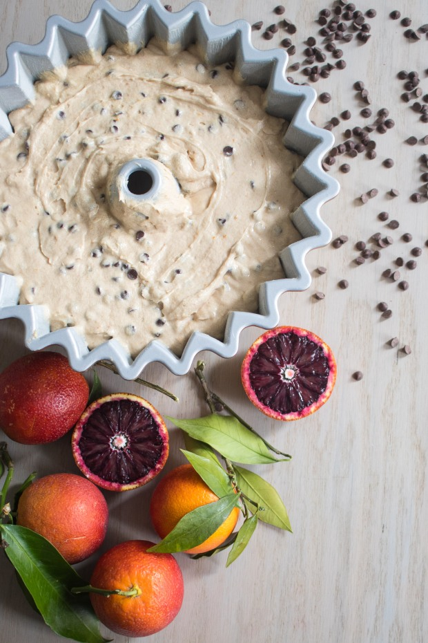 blood orange chocolate chip bundt cake | Brooklyn Homemaker
